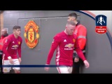 Tunnel Cam - Manchester United v Wigan (Emirates FA Cup 201617) R4 | Inside Access