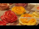 Украшение торта розами из крема - Рецепт Бабушки Эммы