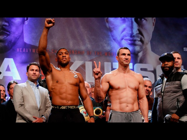 The Road to Joshua vs Klitschko April 29 LIVE on SHOWTIME 4 15p ET 1 15p PT