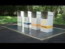 Система подземного сбора и хранения мусора ECOLIFT Первый канал Доброе утро 09 08 2016