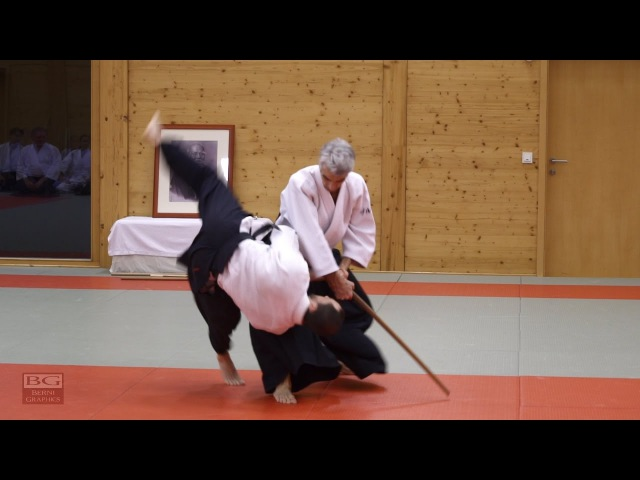 Aikido Bruno Gonzalez working on Tachidori