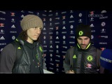 DAVID LUIZ AND FABREGAS: Reflect on the win against Swansea