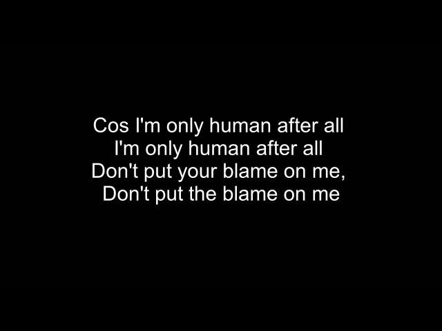 Rag'n'Bone Man - Human Lyrics
