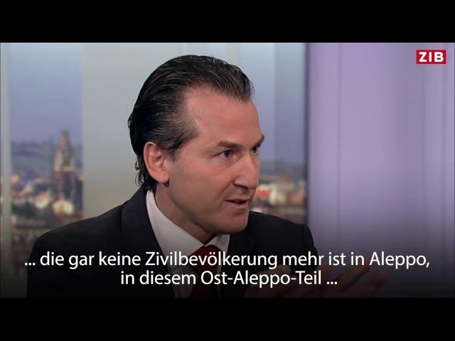 """""""Märchen von Aleppo"""" Wir werden dumm gehalten. Der Syrienkrieg wird von außen am Leben gehalten"""""""