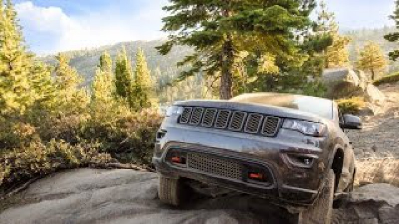 Jeep Grand Cherokee Trailhawk | Rubicon Trail | Trail Rated® Capability