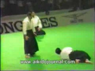 Daito ryu aikijutsu China demonstration 1985