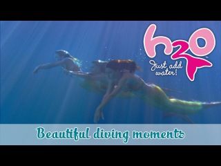 Beautiful diving moments H2O - JUST ADD WATER official H2O Channel