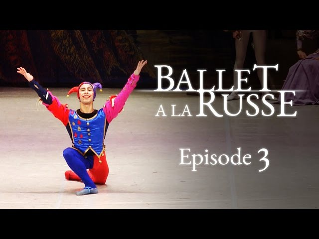 Ballet a la Russe (E3) A ballet school newbie gets a lead role. Will she cope?