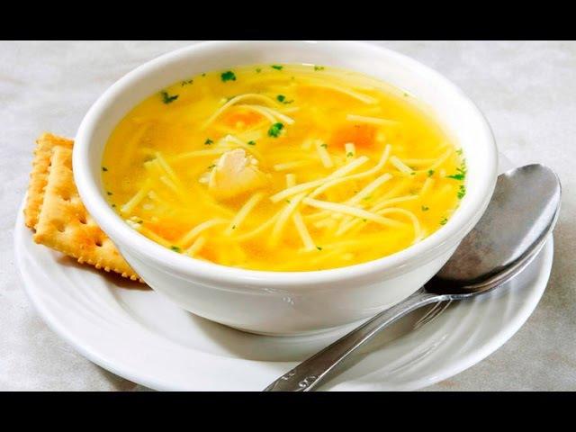 Куриный суп с секретом! Пальчики оближешь