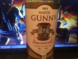Виски Майор Ганс (Major Gunns). Дегустация # 37 Старый Оскол