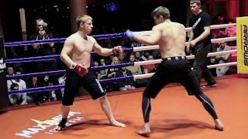 Русский Конор Макгрегор против боксера нокаутера