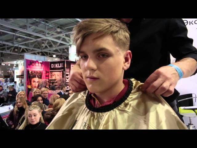 Шоу парикмахеров Рома Кедрик-Интершарм Москва 2015