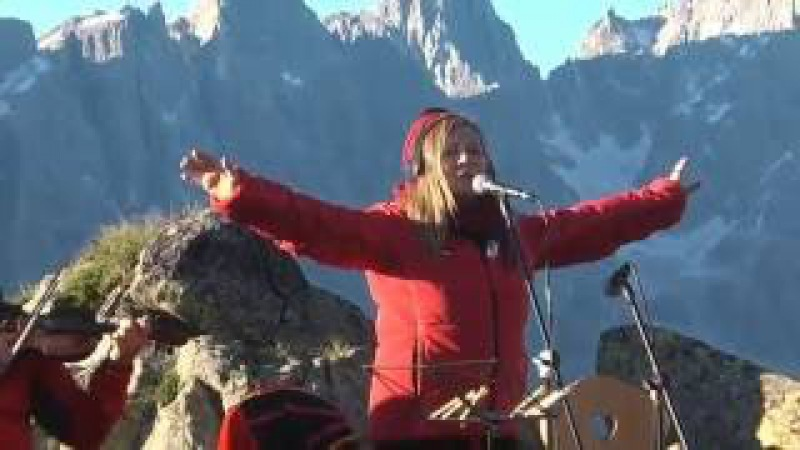 Mari Boine - Brother Eagle - alba nelle Dolomiti