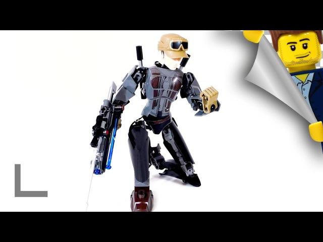 Обзор набора Lego Star Wars 75119 Джин Эрсо (Jyn Erso)