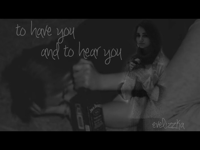 эвелиззка ~ to have you and to hear you