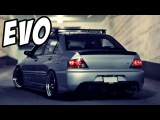 Mitsubishi Lancer Evolution Compilation  Launches - Backfire - Donuts