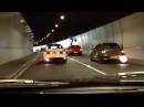Mitsubishi Evo tunnel run - EPIC Turbo sounds and Accelerations