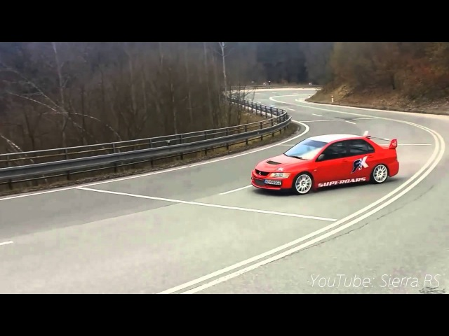 Best Of Mitsubishi Lancer Evo - Exhaust Sound, Anti-Lag Compilation