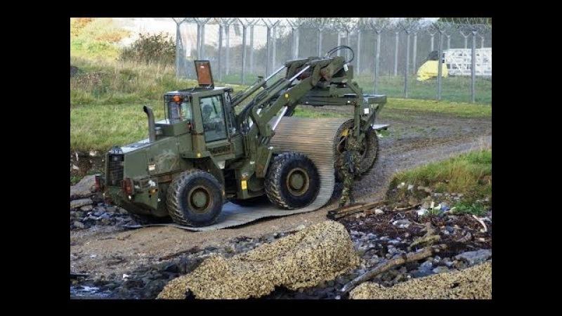 Современные военно-инженерные машины для быстрой прокладки мобильных дорог