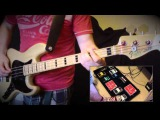 Royal Blood - Out of the Black - Bass Cover - performed by Adam Flanagan - with Fake Guitar Sound!
