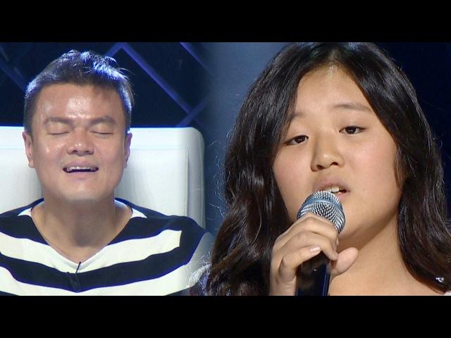 Yoo Jei's little sister Yoo Jinee 'When We Were Young'  《KPOP STAR 6》 EP01