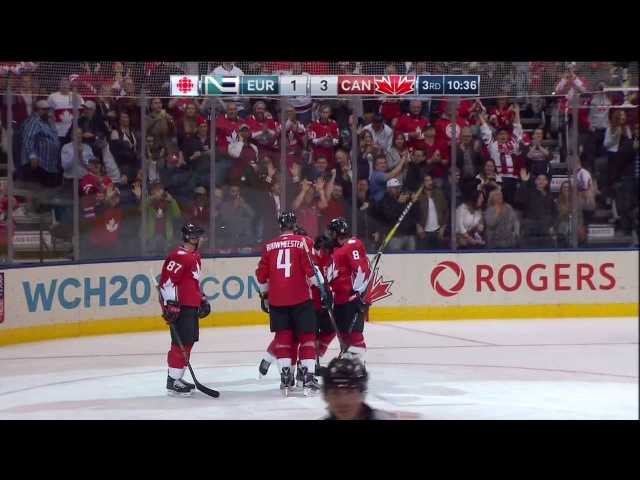 2016 World Cup of Hockey Final Game 1: Team Europe vs Team Canada 9.27.16 (HD)