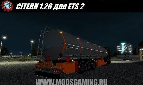 Euro Truck Simulator 2 download mod trailer CITERN 1.26