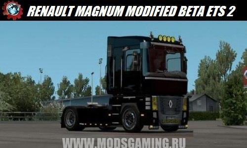 Euro Truck Simulator 2 download mod truck RENAULT MAGNUM MODIFIED BETA