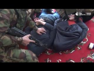 Захват террористов ИГ