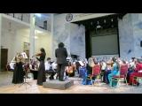 В.А.Моцарт Концертная Симфония для скрипки и альта с оркестром (2-3 части)