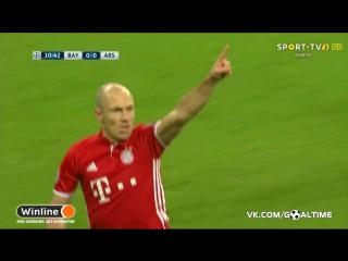 Бавария - Арсенал 1:0. Роббен