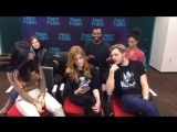 Shadowhunters Cast Live QA for 2x02 A Door Into the Dark