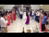 Флешмоб на свадьбе Армена и Анны! Justin Timberlake - Cant stop the feeling!