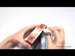 ♥♥♥ Создаем комод Алые розы в технике декупаж ♥♥♥