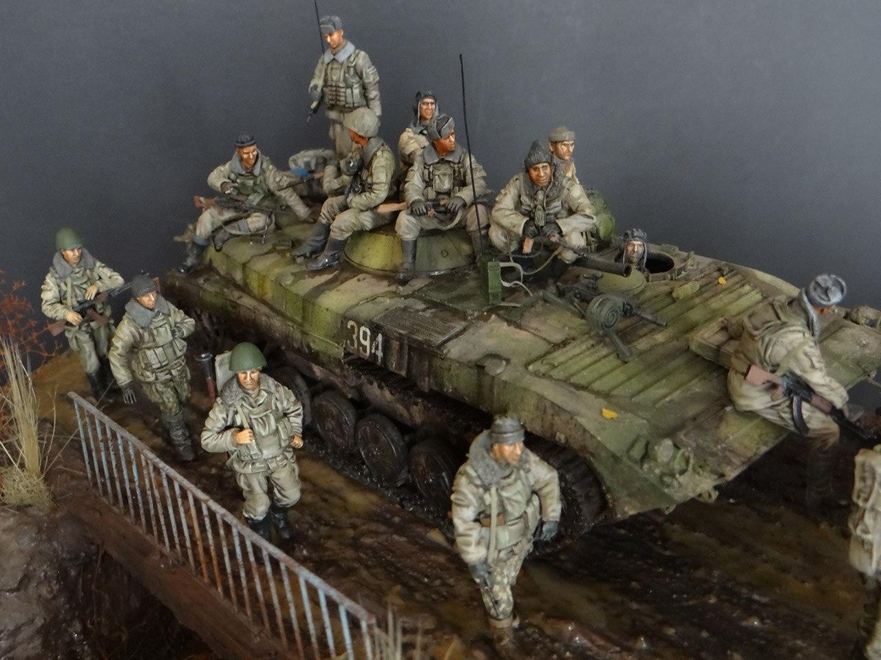 Военной миниатюры своими руками фото 990