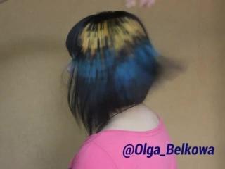 Пиксельное окрашивание волос от Белковой Ольги))