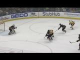 2 претендент на лучшую шайбу в НХЛ - Сидни Кросби, забил гол «Баффало» - шайбу в верхний угол, держа клюшку в одной руке.