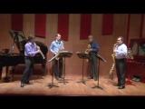 A. Eshpai - Rondo - Etude Glazunov Saxophone Quartet
