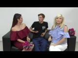 Юморист Павел Воля и певица Ёлка пытаются сорвать прямой эфир у Ляйсан Утяшевой и Лины Дембиковой!
