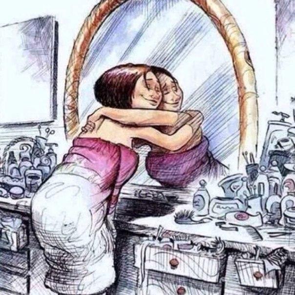 Если человек сам себя не любит, недоволен собой, занимается нелюбимым делом, если его разум находится в смятении, в разладе с душой, тогда, он не может обладать обаятельной красотой. Любой конфликт души и разума отражается на внешности и характере человек