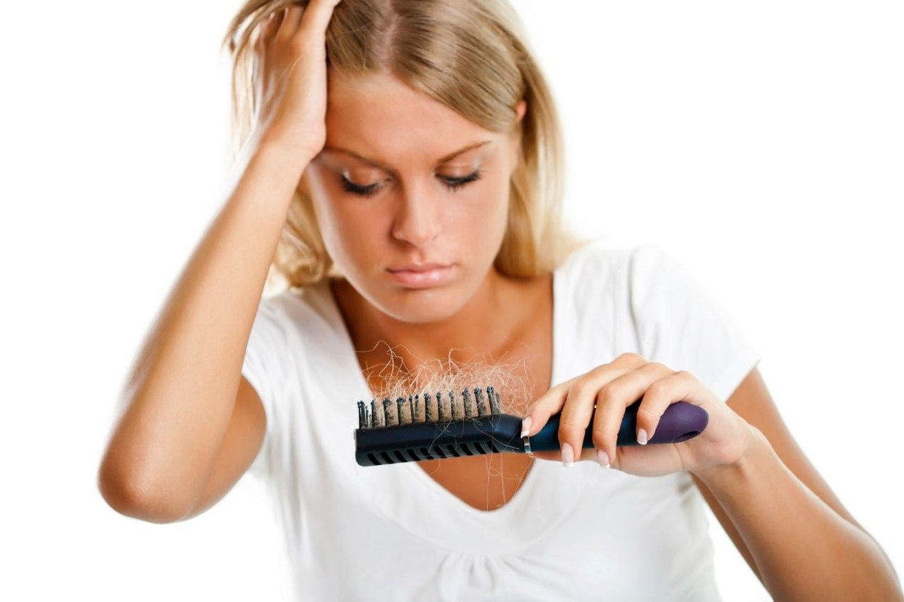 Из за стресса выпадают волосы форум