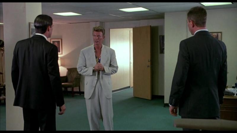 Твин Пикс Огонь иди со мной мистическая сцена с Дэвидом Боуи