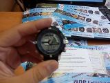Мужские наручные часы Weide Aqua Rubber Blue. Бест-Тайм