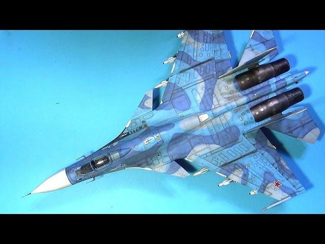 KINETIC 1/48 SU-33 FLANKER D Part.4 워싱50920;더링(weathering) 프라모델 도색 scale model aircraft