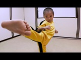 GoPro: Five-year-old 'Mini Bruce Lee'
