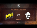 Na`Vi vs Ad Finem, Game 1, The Summit 5