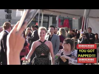 Emily VanCamp arriving to Captain America Civil War Premiere at Dolby Theatre in in Hollywood