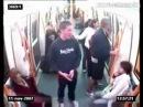 1 в метро против Толпы футбольных болельщиков