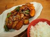 Корейская кухня: Омук боккым (어묵볶음) или рыбный пирог в остром соусе