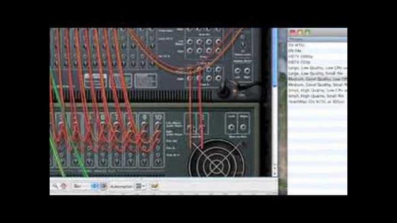 Using CV wiring in Reason -- Part 1